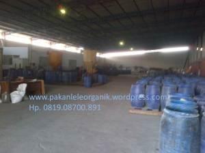 Pabrik pakan lele organik